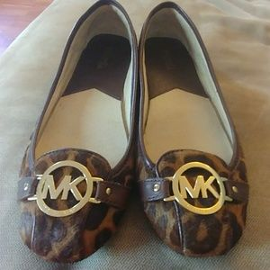Michael Kors Animal Print Flats